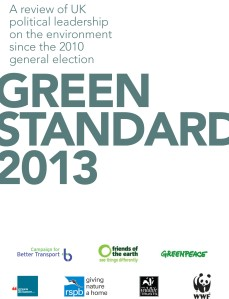 Green Standard 2013 cover