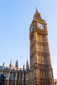 Uhrturm Big Ben in London