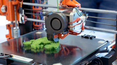 Three dimensional plastic 3d printer