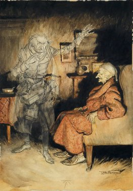 'Scrooge_and_the_Ghost_of_Marley'_by_Arthur_Rackham