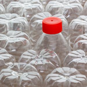 plastic bottles square