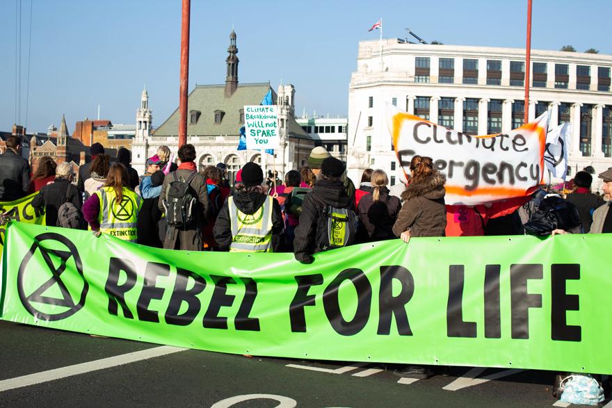 Extinction Rebellion_Julia Hawkins via Flickr Creative Commons_sml