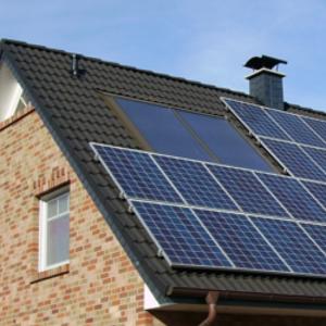 solar house small