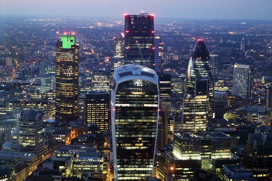 london city night - Ray Wewerka via Flickr