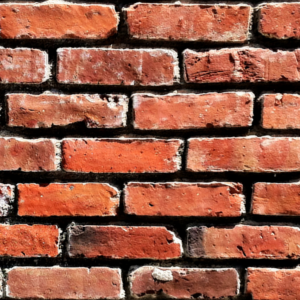 brick wall square