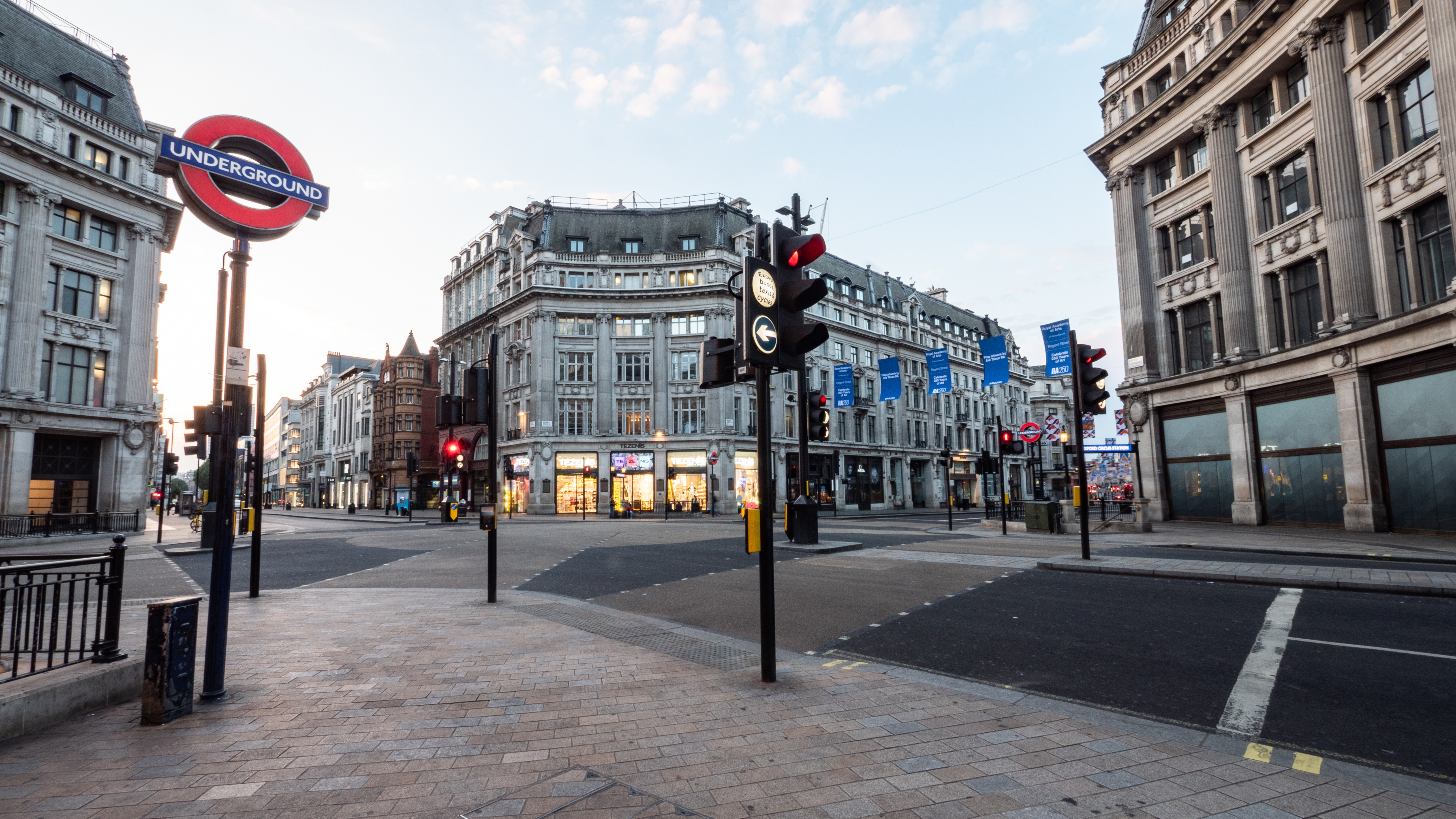 Empty; Oxford Circus, London